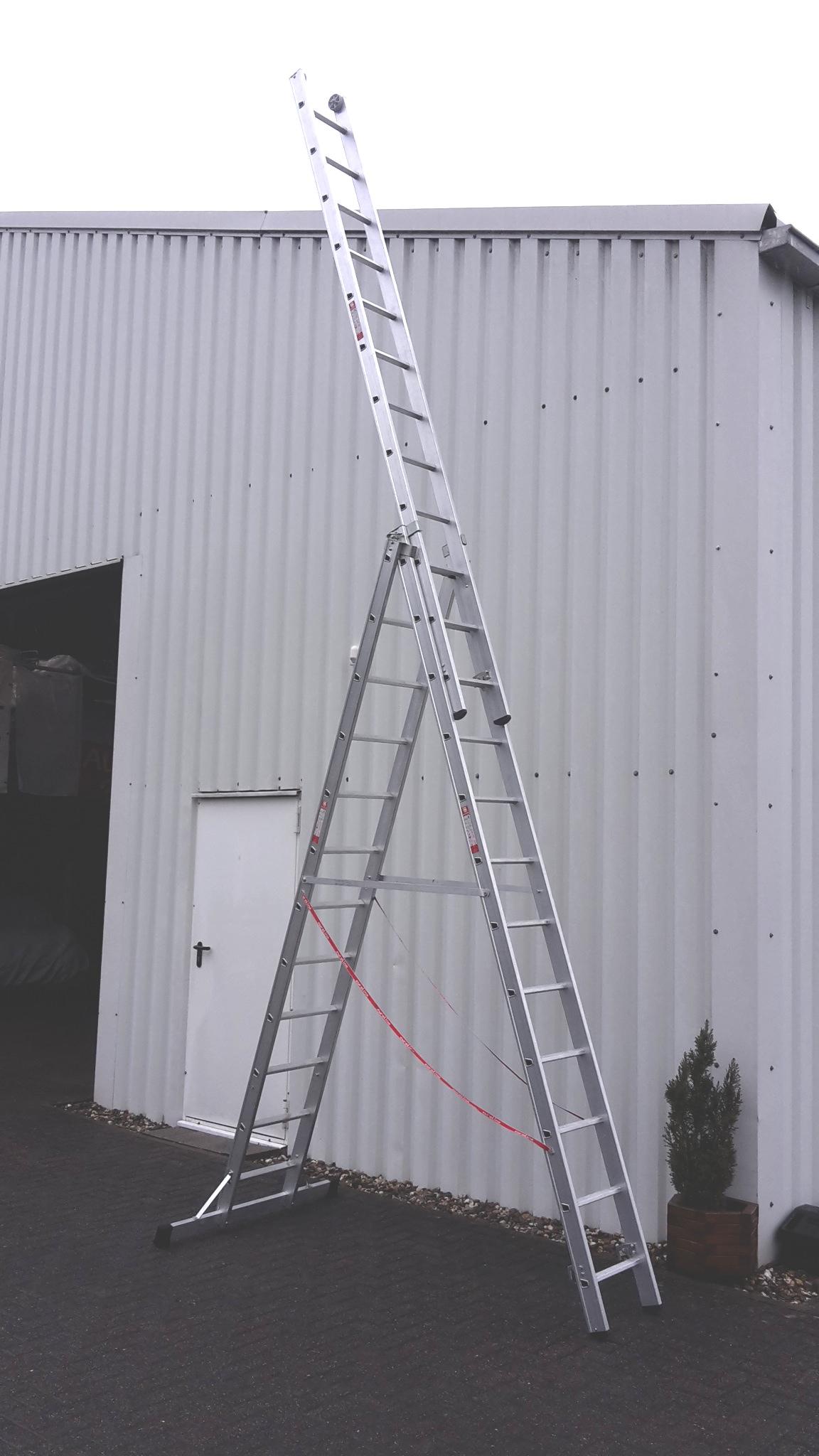 stehleiter 3 x 12